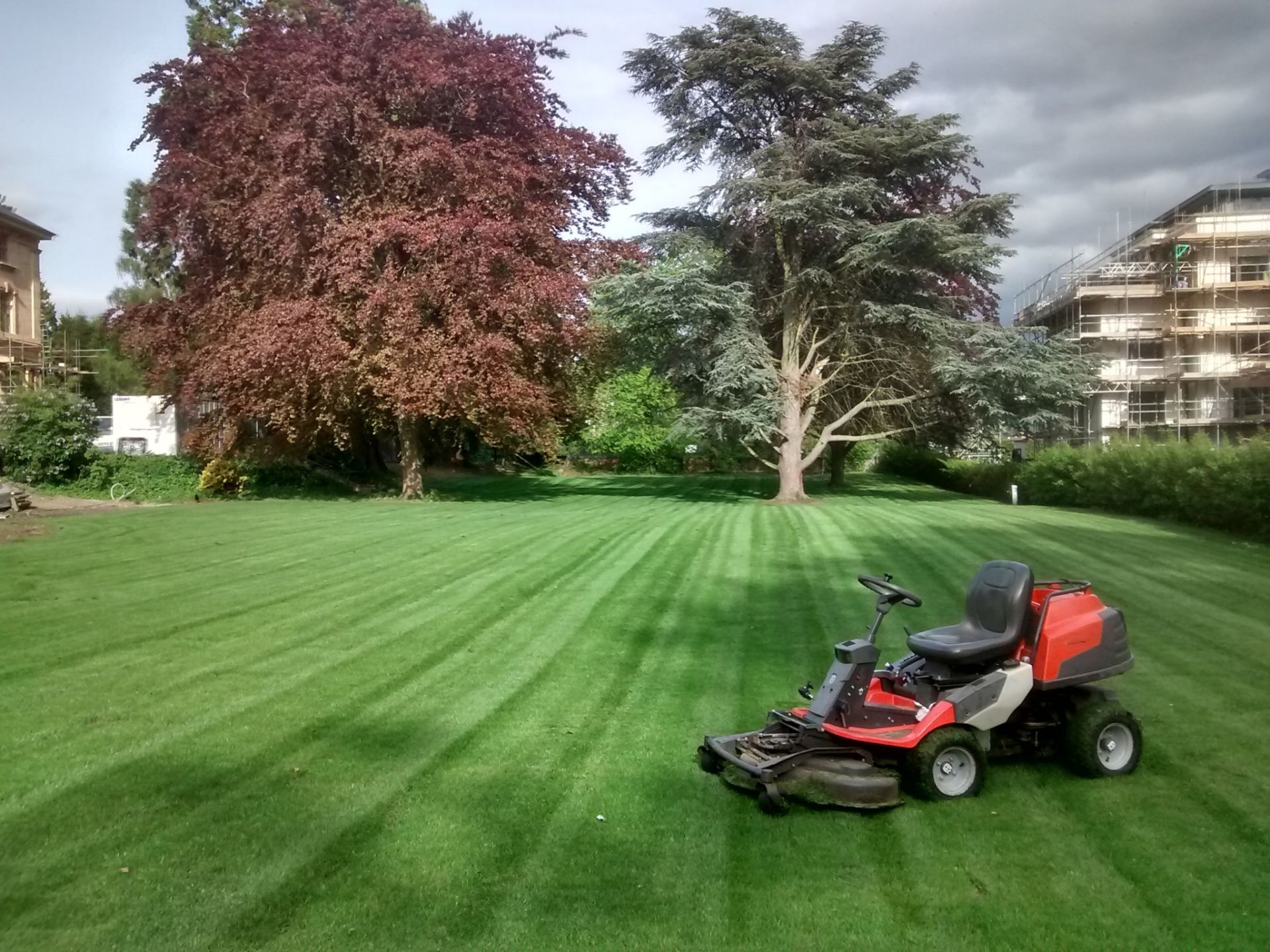 Grass Cutting | Lypiatt Landscapes